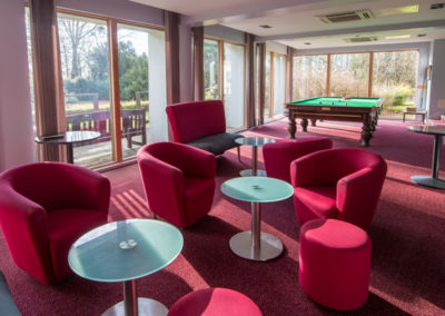 Accommodation Lounge and Snooker Table