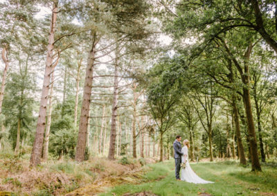 Wedding Photography in The Hawkhills Wood