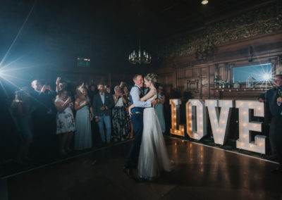 The First Dance in The Oak Room