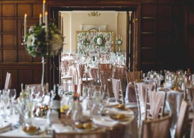The Beautifully decorated Oak Room